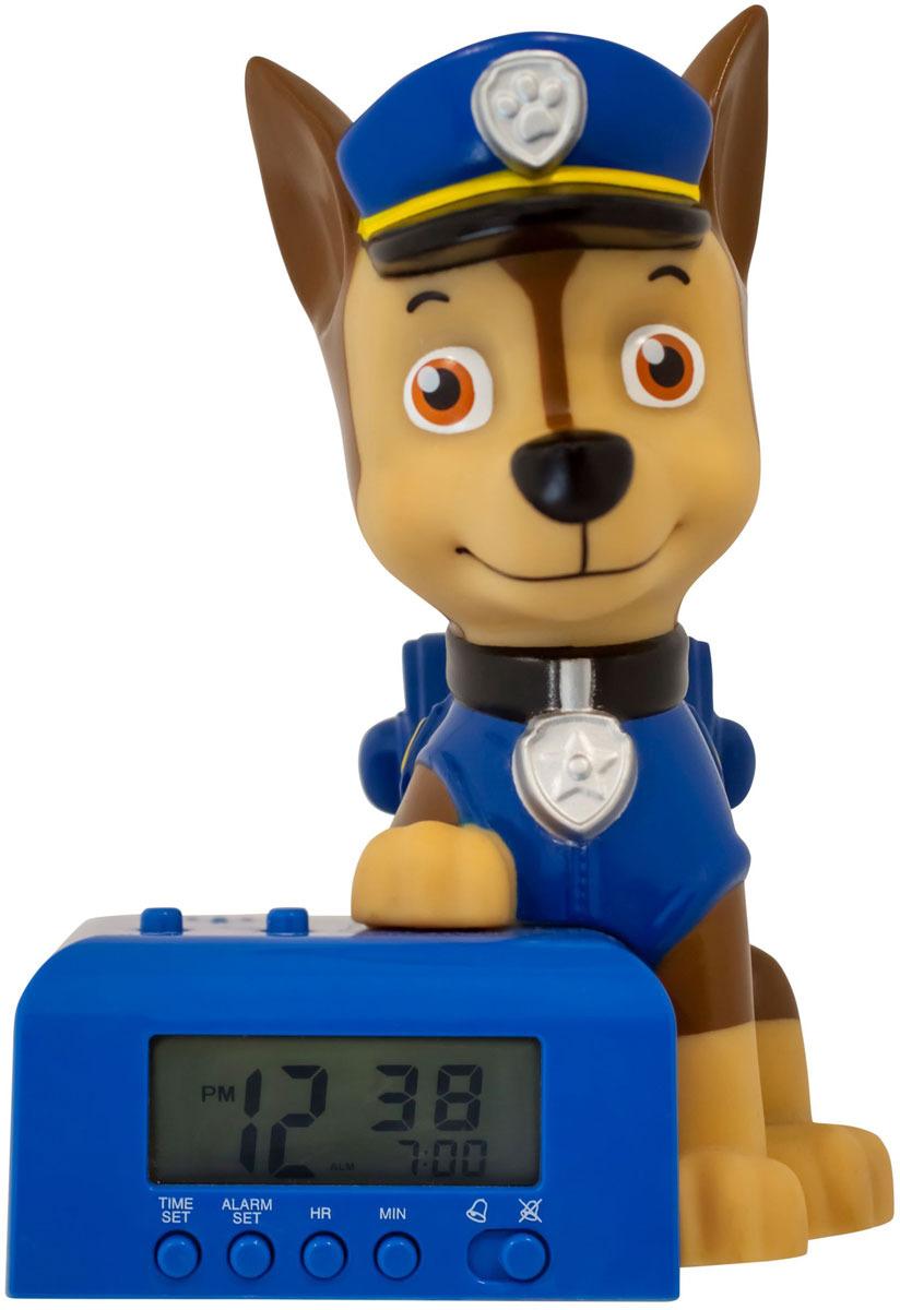 Электронный будильник Paw Patrol детский BulbBotz Чейз мягкая игрушка paw patrol plush чейз суперспасатели пожарные 6044393 20101969