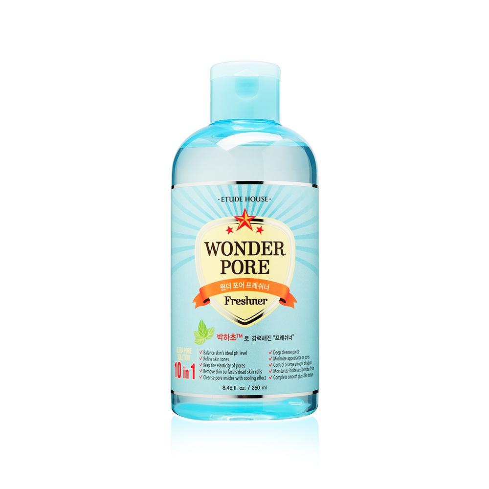 Тоник Etude House Wonder Pore Freshner, для проблемной кожи, 250 мл