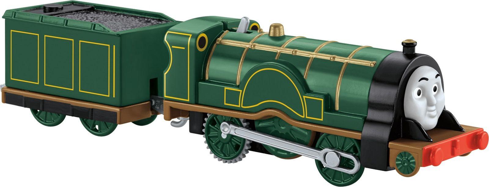 Фото - Thomas&Friends Базовый паровозик Эмили, цвет: темно-зеленый боди детский luvable friends 60325 f бирюзовый р 55 61