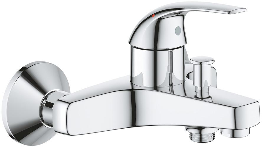 Смеситель для ванны Grohe BauCurve, однорычажный, с аэратором