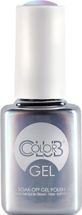Гель-лак Color Club Gel, тон Blue Skies Ahead, 15 мл гель лак color club gel тон 1076 route 66 15 мл