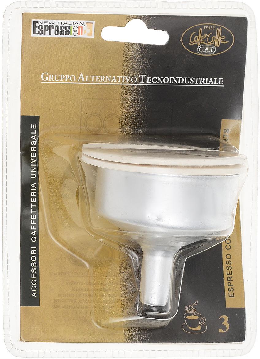 Фото - Гейзерная кофеварка Воронка для гейзерной кофеварки, Нержавеющая сталь кофеварки и кофемолки