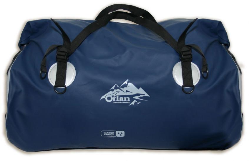 Гермосумка Orlan Экстрим, цвет: темно-синий, 60 л сумка велосипедная orlan экстрим герметичная цвет желтый 30 л