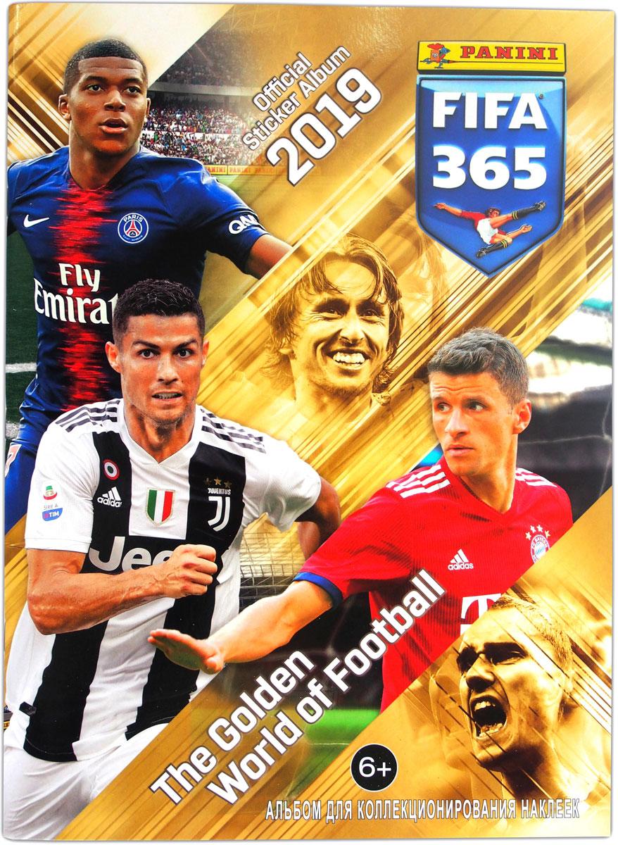 Альбом для наклеек Panini FIFA 365-2019 альбом для наклеек panini soy luna disney я луна disney 15 наклеек в комплекте