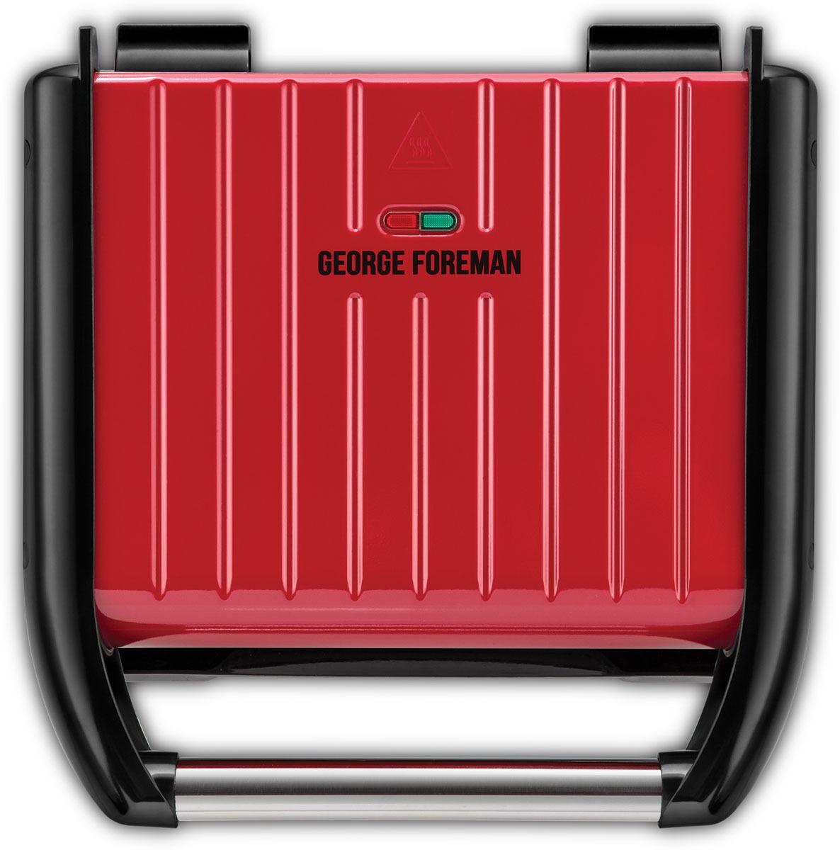 Электрогриль George Foreman 25040-56, Red25040-56Скошенный стальной верхний корпус и стальная ручка. Логотип на внутренней панели. Принципиально новый дизайн - современный вид. Антипригарные пластины. Готовит до 5 порций гриля. Поддон для жира и капель с системой фиксации. Регулируемая задняя нога для приготовления под углом (мясо) или в плоском состоянии (сэндвичи, панини). Вертикальное хранение, отсек для шнура. Индикатор разогрева и готовности к работе.