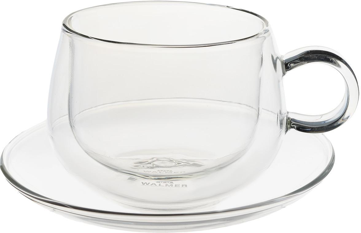 Чайная пара Walmer Viscount, 225 мл
