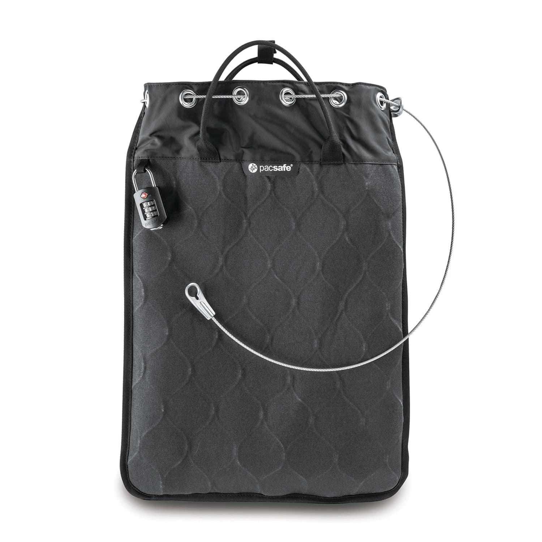 Сумка Pacsafe сейф Travelsafe 12L GII, цвет: черный, 12 л цена