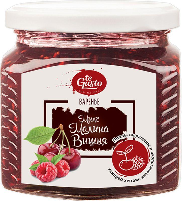 te Gusto Варенье из малины и вишни, 470 г варенье из малины и вишни te gusto 470 г