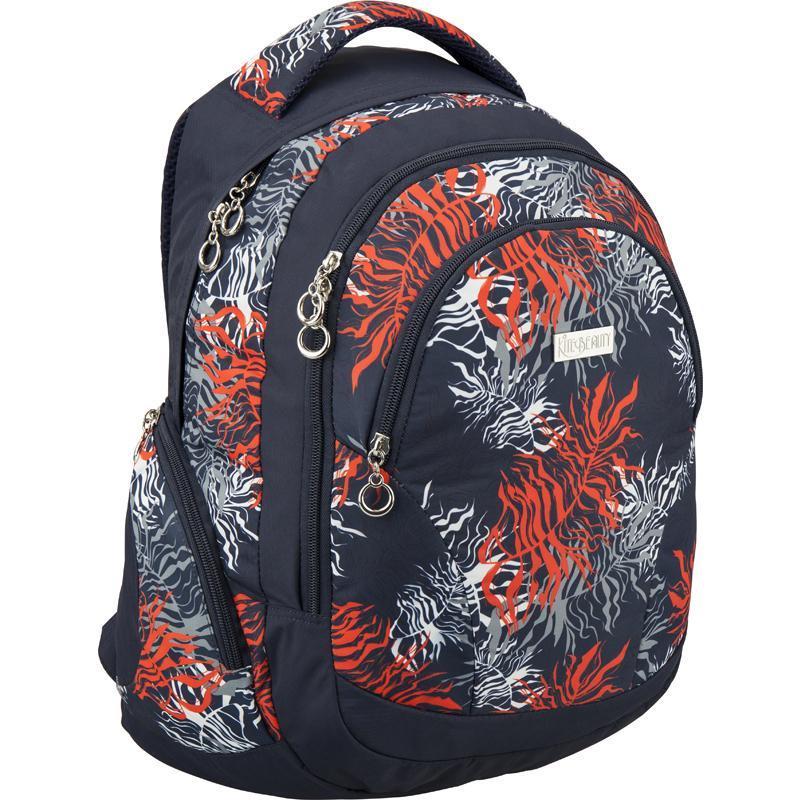 Рюкзак Kite Beauty, цвет: темно-синий, оранжевый. 178-K16-957L-2 цена