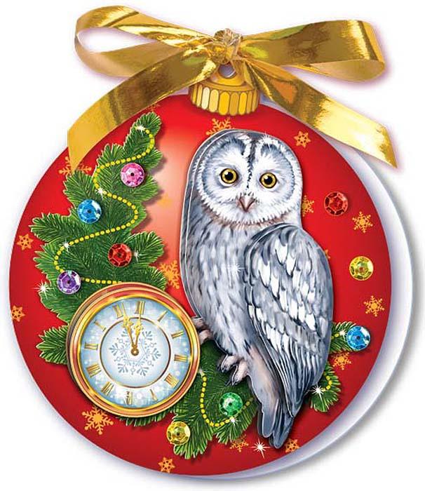 Набор для изготовления новогодней открытки клевер