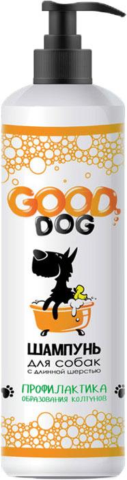 Шампунь для собак с длинной шерстью Good Dog, профилактика образования колтунов, 250 мл