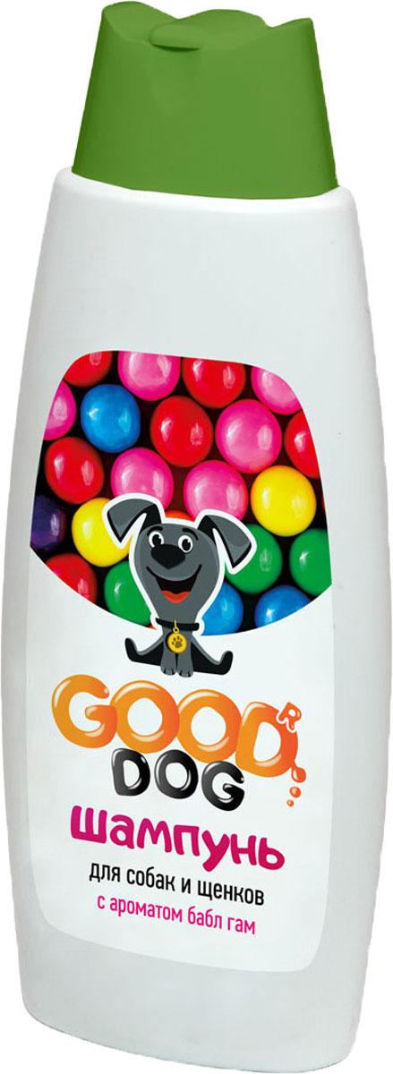 Шампунь для собак и щенков Good Dog, с ароматом Bubble Gum, 250 мл