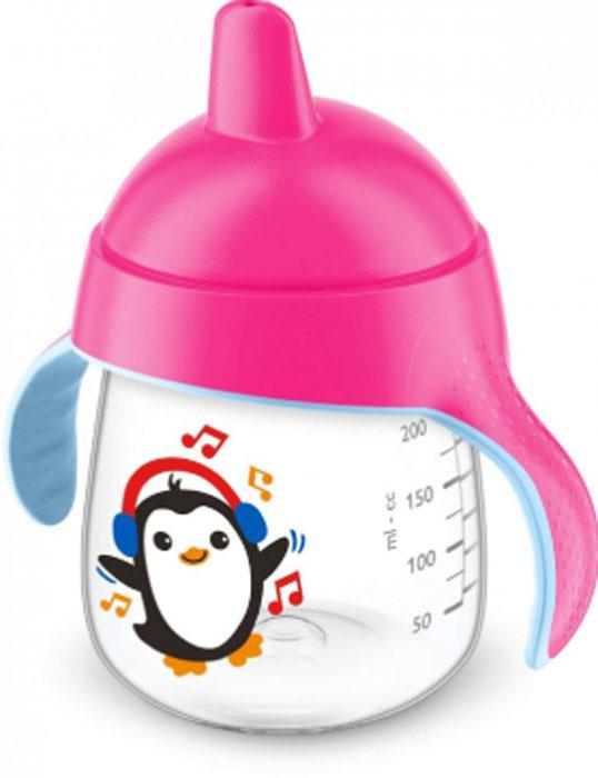 Фото - Philips Avent Волшебная чашка-непроливайка для детей от 12мес., розовый SCF753/00 [супермаркет] jingdong геб scybe фил приблизительно круглая чашка установлена в вертикальном положении стеклянной чашки 290мла 6 z