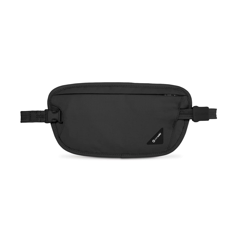 Сумка кошелек на пояс Pacsafe Coversafe X100, цвет: черный philips x100 отзывы
