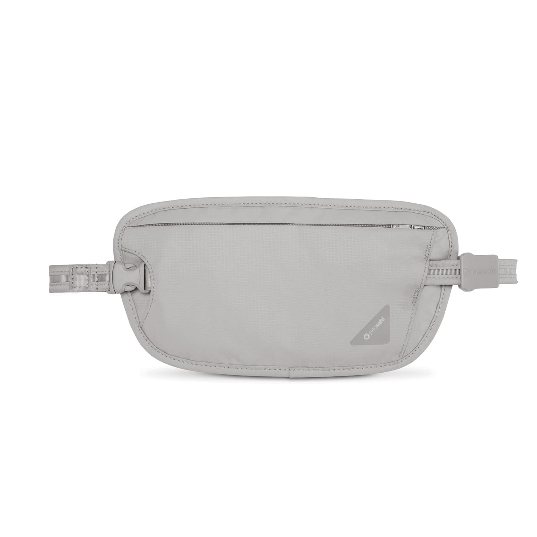 Сумка кошелек на пояс Pacsafe Coversafe X100, цвет: светло-серый philips x100 отзывы