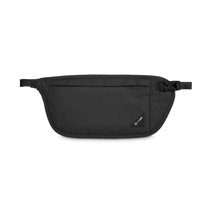 Сумка кошелек на пояс Pacsafe Coversafe V100, цвет: черный цена