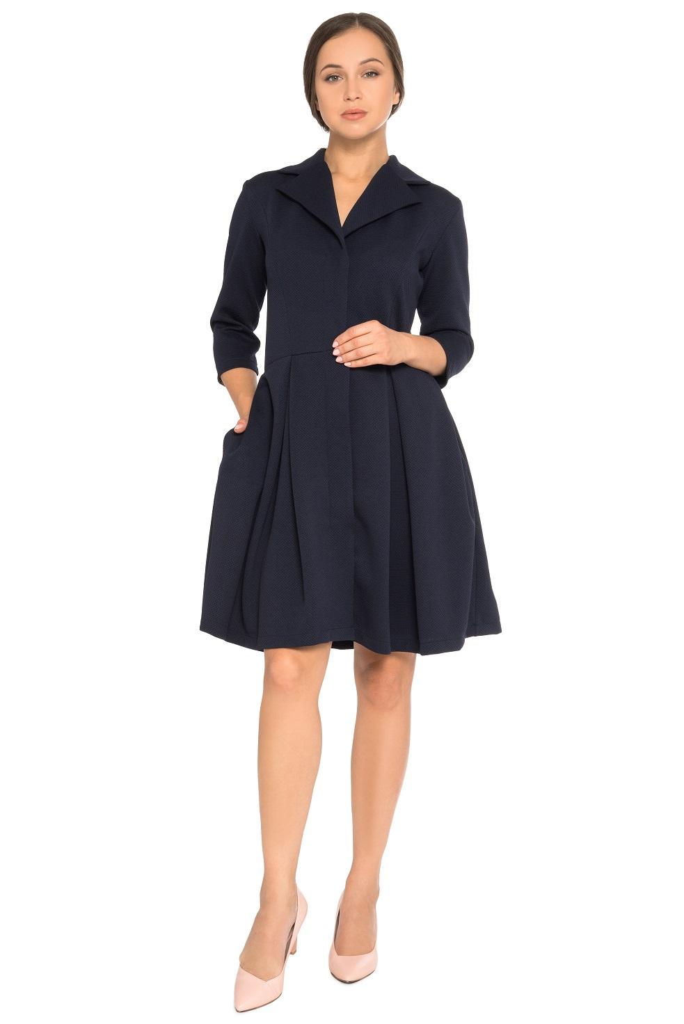 Платье ZAFTO пиджак с отложным воротником b young