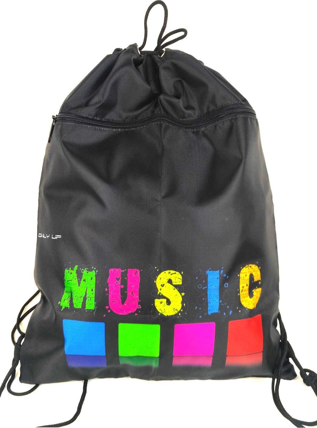 Мешок для обуви UFO People, цвет: черный. 5175-1 мешок для обуви ufo people цвет черный 7414