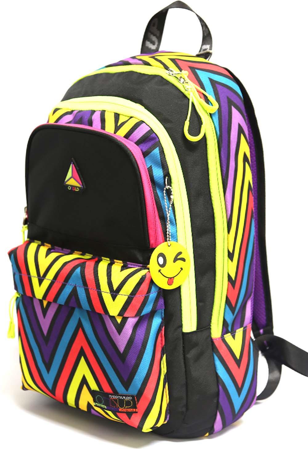 цена Рюкзак детский UFO People, цвет: фиолетовый. 7658 онлайн в 2017 году