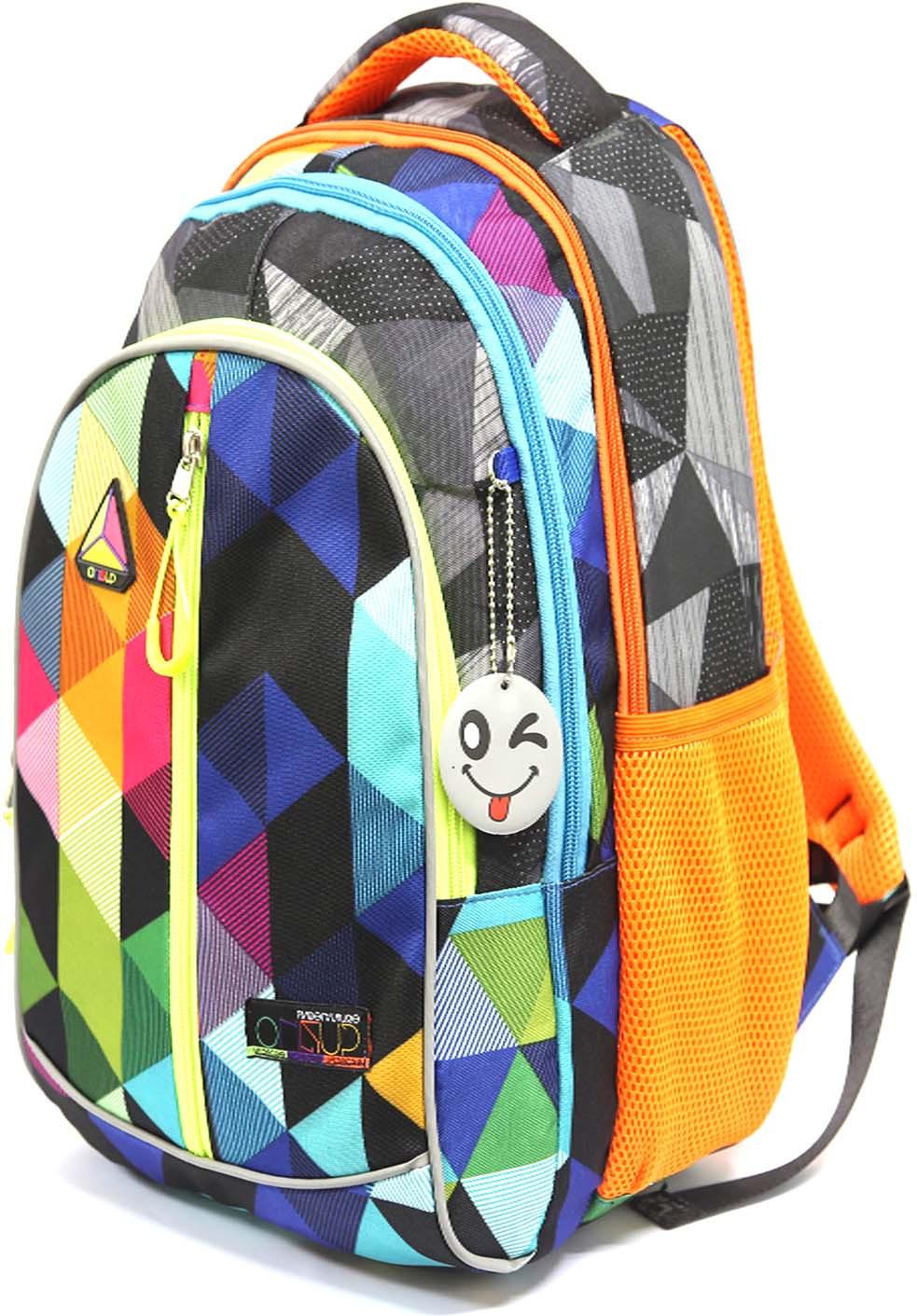 Рюкзак детский UFO People, цвет: оранжевый. 7663 цены онлайн