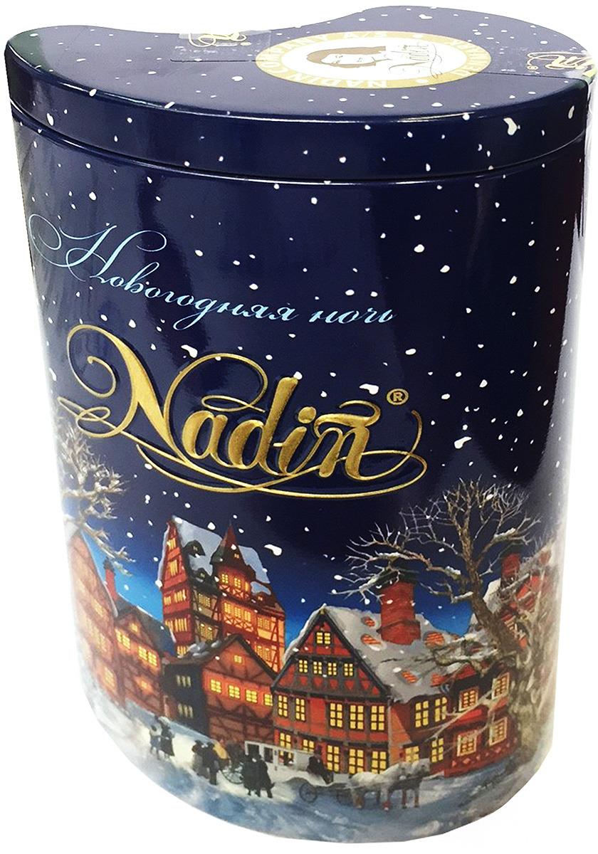 Чай черный листовой Nadin Новогодняя ночь, 75 г lancaster чай с облепихой черный листовой 75 г