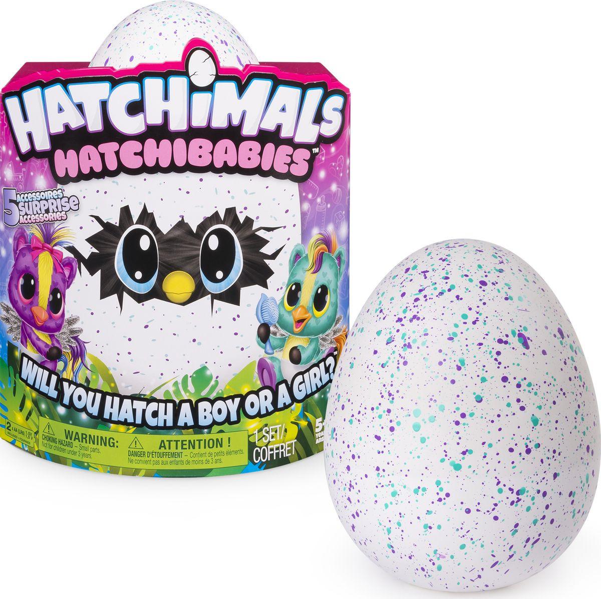 Интерактивная игрушка Hatchimals Hatchy-малыш. 6044070 интерактивная игрушка hatchimals сюрприз близнецы интерактивный питомец вылупляющийся из яйца 19110 zuf