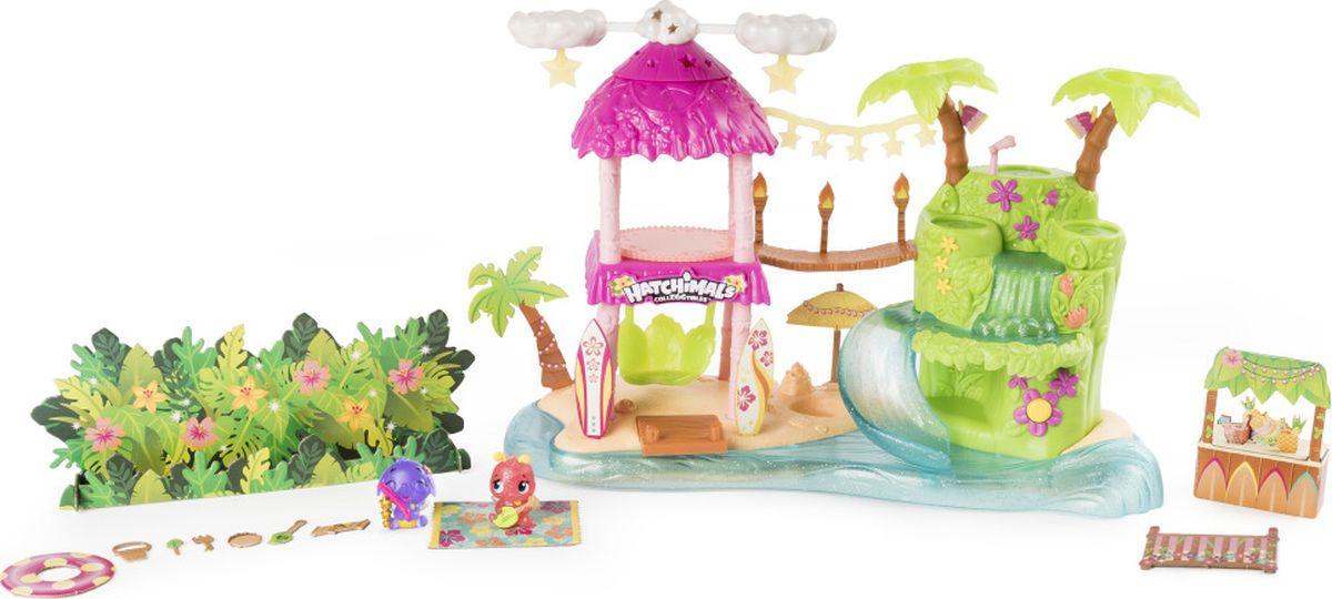 Игровой набор Hatchimals Тропический остров аксессуары к серийным игрушкам hatchimals детский сад для птенцов