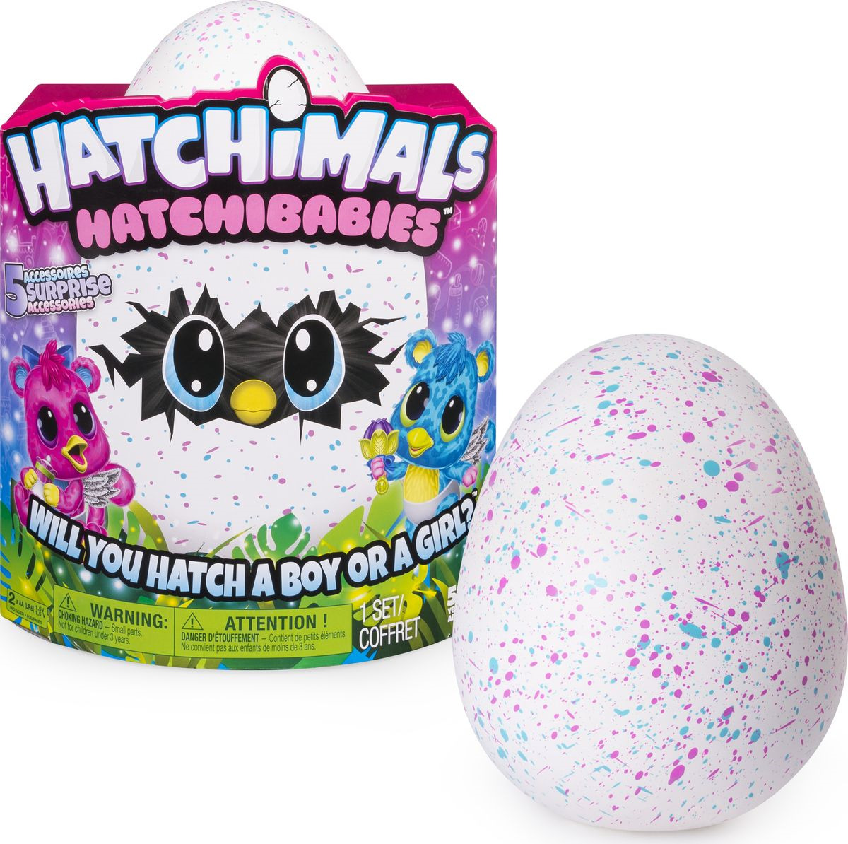 Интерактивная игрушка Hatchimals Hatchy-малыш. 6044072 интерактивная игрушка hatchimals сюрприз близнецы интерактивный питомец вылупляющийся из яйца 19110 zuf