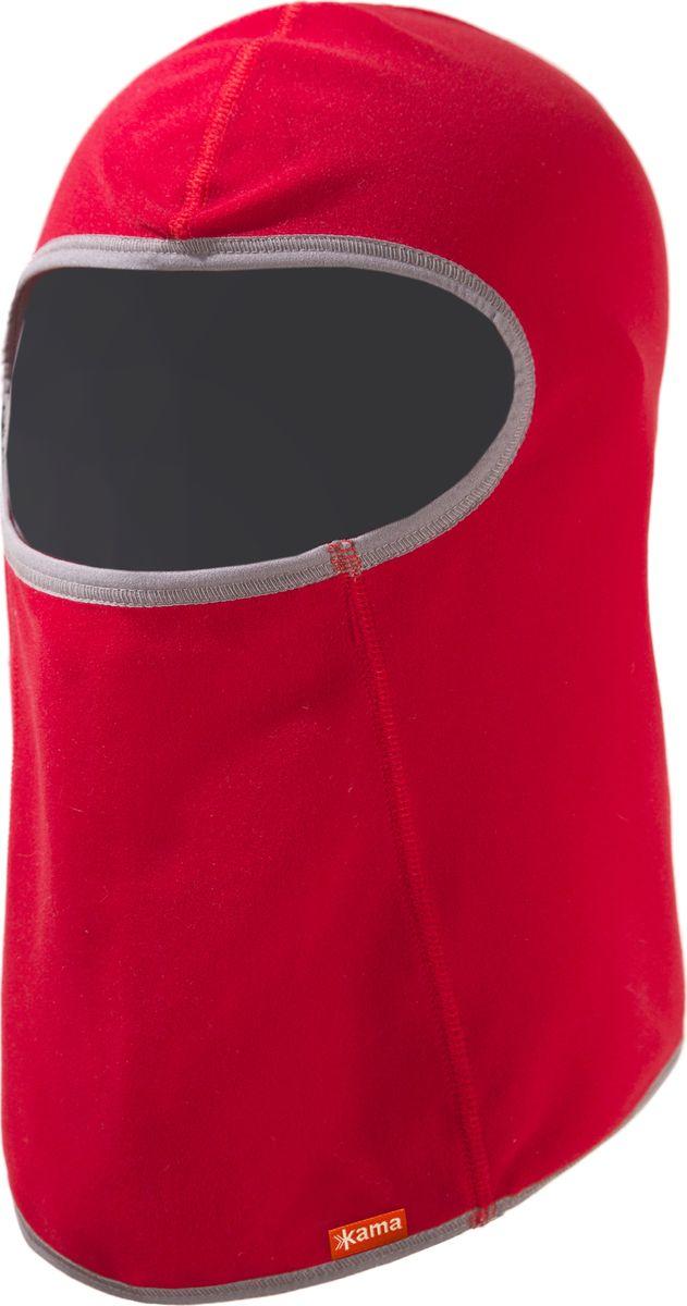 Балаклава kama балаклава для девочки kama цвет красный db14 104 размер s универсальный