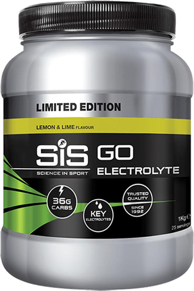 Энергетик с электролитами SiS GO Electrolyte, лимон и лайм, 1 кг