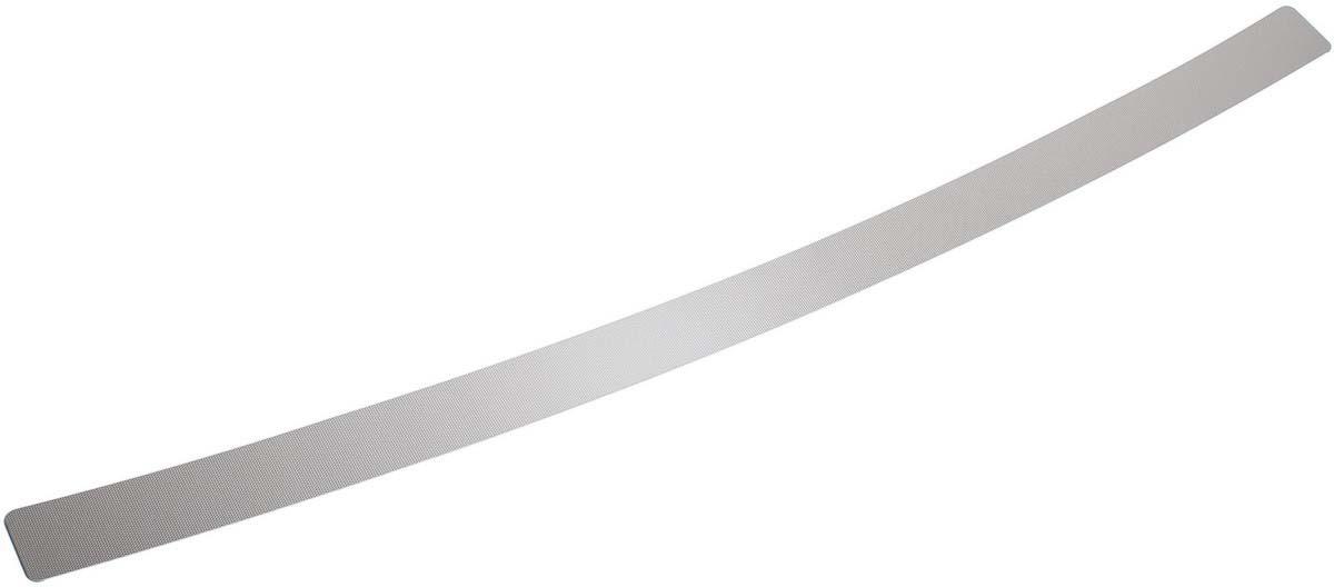 Накладка на задний бампер Rival для Mitsubishi Outlander 2015-н.в., нерж. сталь, 1 шт. NB.4006.1 накладки на пороги rival для hyundai creta 2016 н в нерж сталь с надписью 4 шт np 2310 1