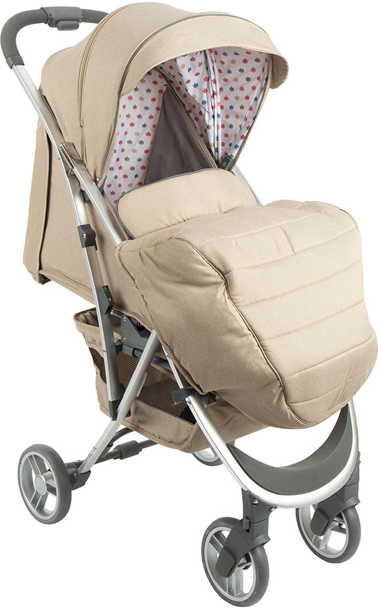 Коляска прогулочная Corol, цвет: бежевый. S-9S-9Прогулочная коляска Corol S-9 – это стильная и молодежная модель, которая предназначается для детей возрастом от шести месяцев и до трех лет. Она оснащена необходимыми функционалом для удобной прогулки с малышом. Рама легкая и прочная, удобно складывается и занимает мало места в багажнике автомобиля, свободно проходит в лифт и выдерживает вес ребенка вместе с прогулочным блоком. Передняя и задняя оси с разной шириной, что улучшает маневренность. Резиновые колеса большого диаметра обеспечивают высокую проходимость. Передние колеса вращаются на 360 градусов и тем самым делают коляску удобной в управлении. Тормоз, фиксирующий коляску на наклонной поверхности. Прогулочный блок представляет собой комфортное кресло, которое может раскладываться до горизонтального положения и создавать удобное спальное место. Подножка регулируется и удлиняет спальное место. Бампер с накладкой и ремни безопасности фиксируют малыша в кресле. Большой капор с капюшоном защищает ребенка от ветра, дождя и снега. На задней части капюшона есть карман для мелочи. Материал обивки снимается и чистится. Размер спального места: 83x32 см. В комплекте к прогулочной коляске Corol S-9 идет корзина для покупок, дождевик, козырек и капор. Данная модель прочная, легкая, стильная, а главное – доступная на рынке. Прогулочная коляска Corol S-9 – легкая и маневренная модель, которая может похвастаться высоким качеством сборки и тканевых материалов. В ней ребенку будет комфортно в любую погоду. Рама коляски алюминиевая, что...