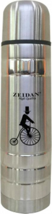 Термос Zeidan Z-9046, цвет: серебристый, 0,75 л термос zeidan wallace 0 8 л