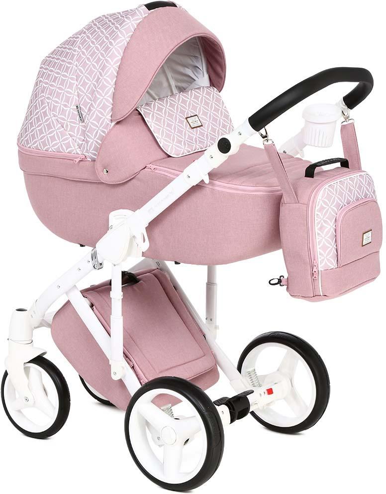 картинки колясок розовая ретро