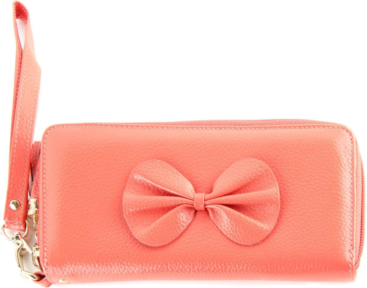 Кошелек женский Topo Fortunato, цвет: розовый. TF 1126-009 мыловаров массажная плитка для тела горячий шоколад 90 гр