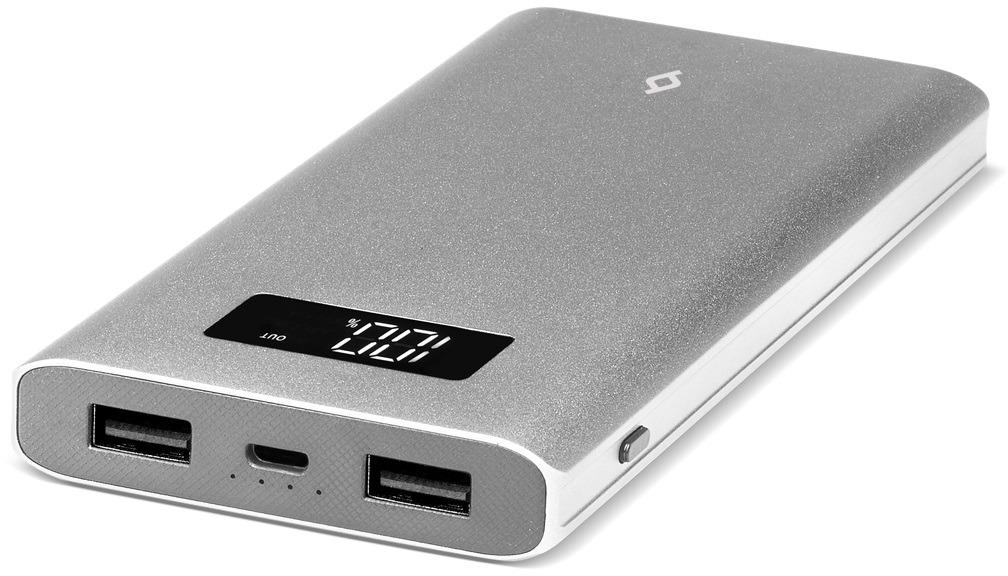 Внешний аккумулятор TTEC AlumiSlim 7 000 мАч с LCD, цвет: серый стоимость