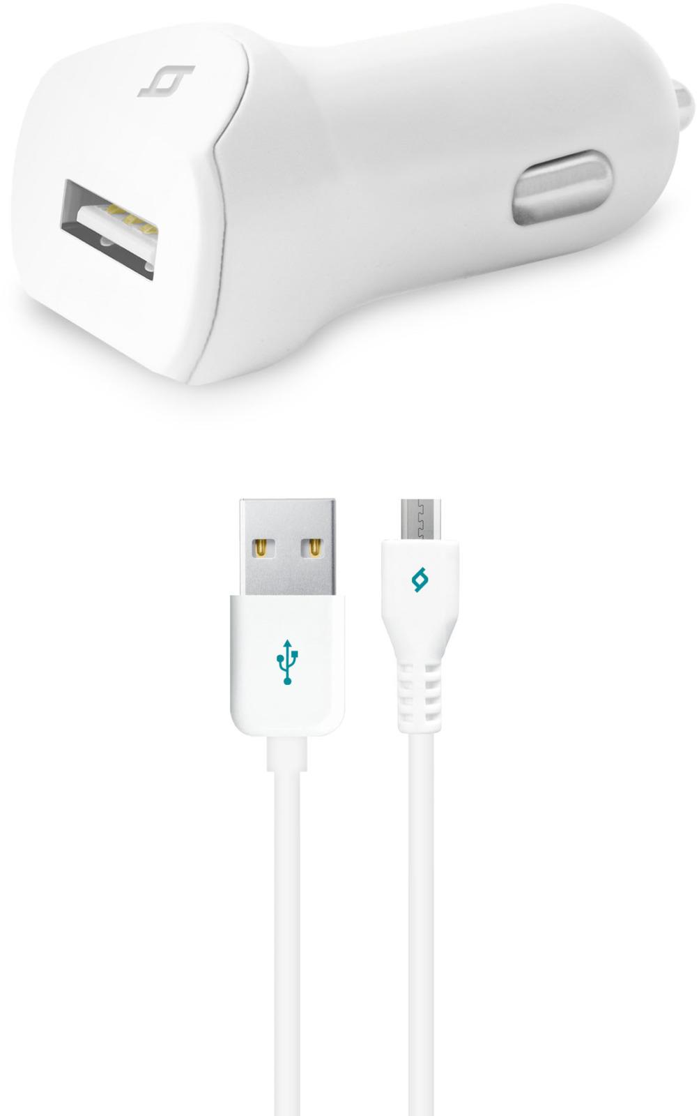 Автомобильное зарядное устройство TTEC SpeedCharger USB-micro USB, 2.1A, цвет: белый digital dental sensor rvg with twain driver dental x ray sensor ateco dental x ray image sensor