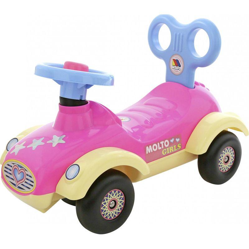 Каталка-автомобиль для девочек Molto