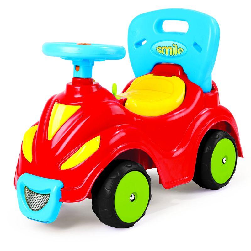 Автомобиль-каталка Dolu, цвет: красный