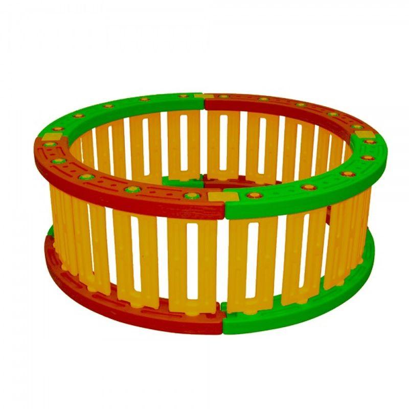 Пластиковый круглый манеж для шаров KING KIDS, 51 см игровой манеж king kids игровой манеж из 6 частей