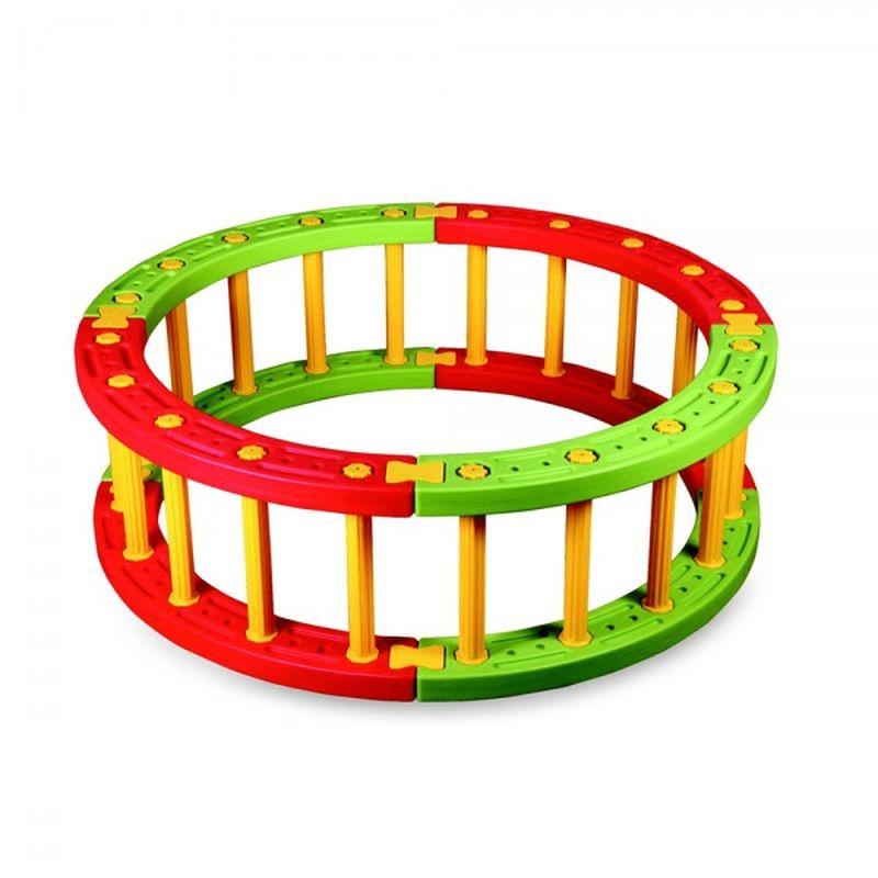 Фото - Пластиковый круглый манеж KING KIDS, 45 см манеж globex квадрат 96х96х77 см фиолетовый