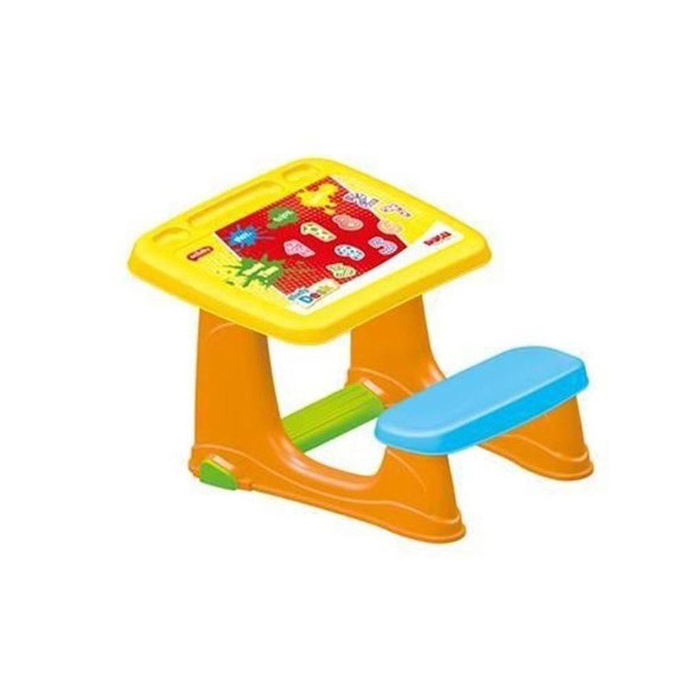 Парта Dolu со скамейкой, 49 x 59 x 72 см. DL_7065