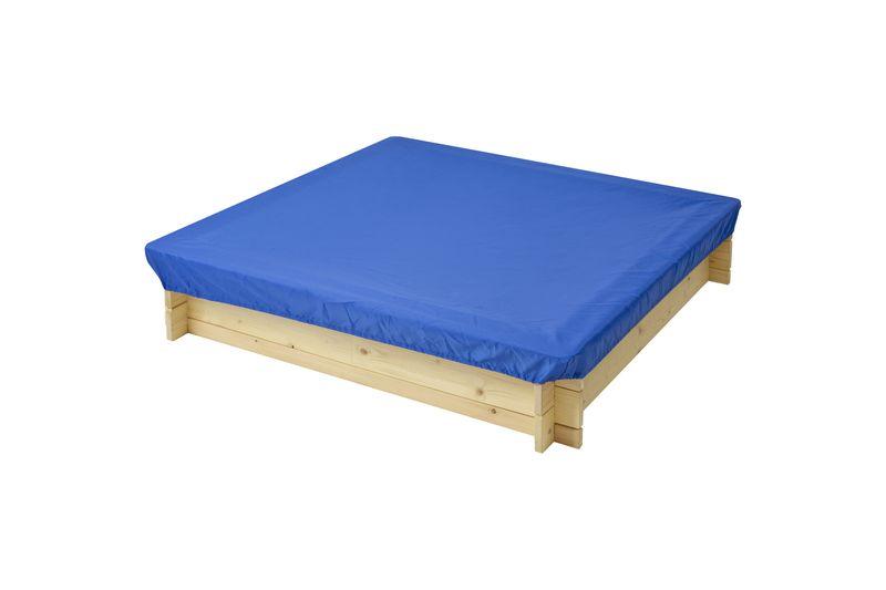 Защитный чехол для песочниц PAREMO, цвет: синий, 120 x 120 x 30 см тюбинг rt ural bear до 120 кг тентовая ткань рисунок 6966