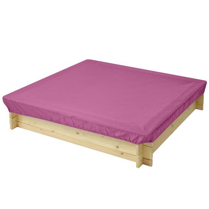 Защитный чехол для песочниц PAREMO, цвет: розовый, 120 x 120 x 30 см. PS118 тюбинг rt ural bear до 120 кг тентовая ткань рисунок 6966