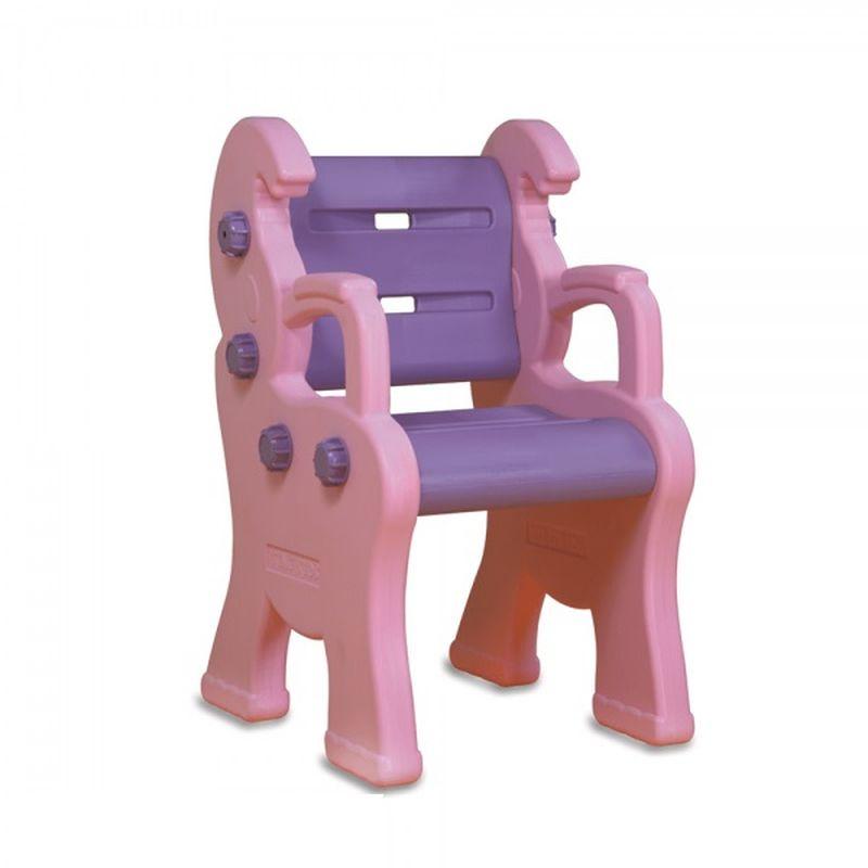 Стул King Kids Королевский, детский, пластиковый, цвет: розовый, сиреневый детский стул king kids детский пластиковый стул королевский красный