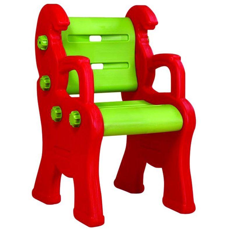 Стул King Kids Королевский, детский, пластиковый, цвет: красный, зеленый детский стул king kids детский пластиковый стул королевский красный