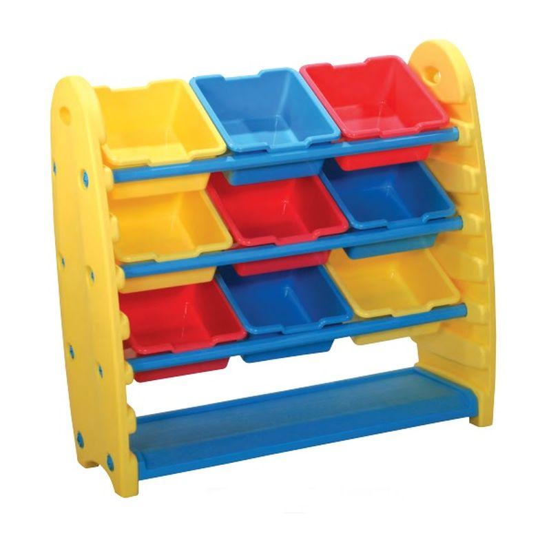 Система хранения KING KIDS для игрушек, 9 контейнеров по 29 х 29 х 14 см. KK_TB1500