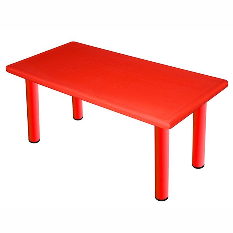 Cтол King Kids Королевский, детский, большой, цвет: красный. KK_KT1100-P_R детский стул king kids детский пластиковый стул королевский красный