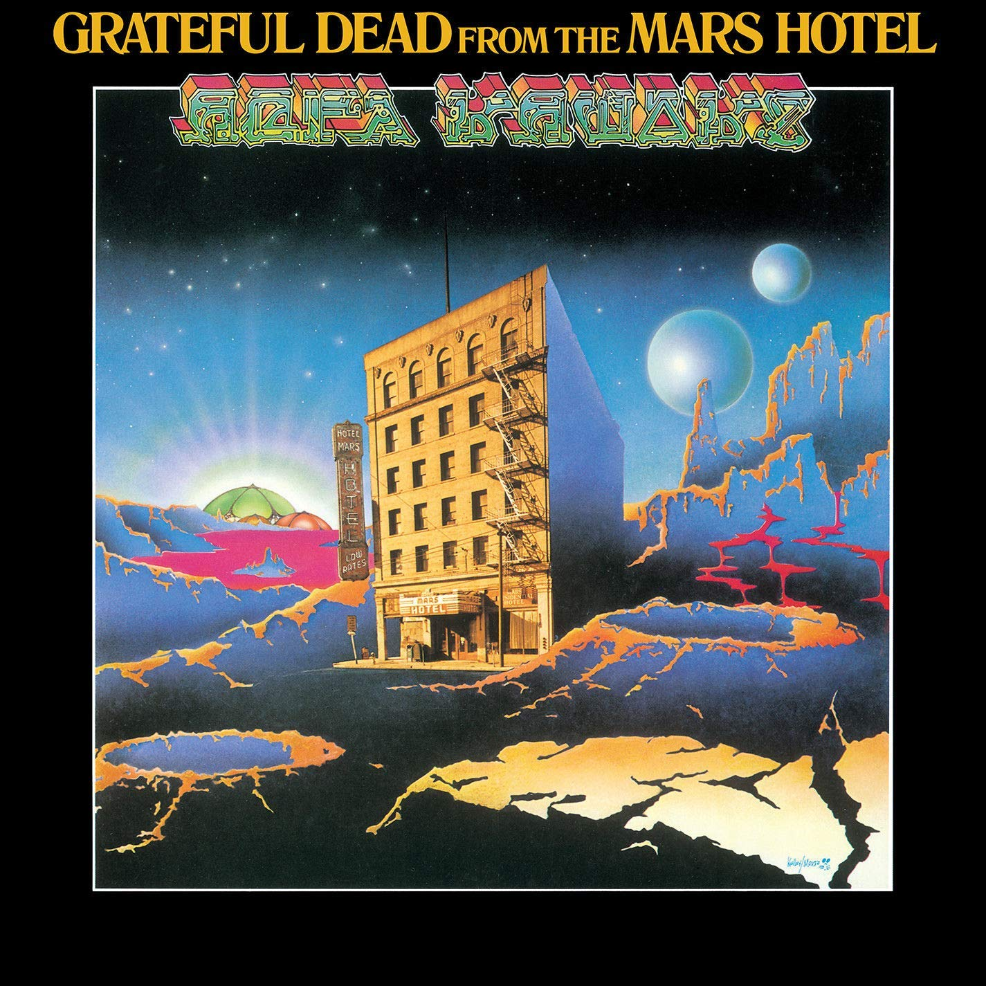 The Grateful Dead Grateful Dead. From The Mars Hotel (LP) the grateful dead grateful dead grateful dead records collection 5 lp