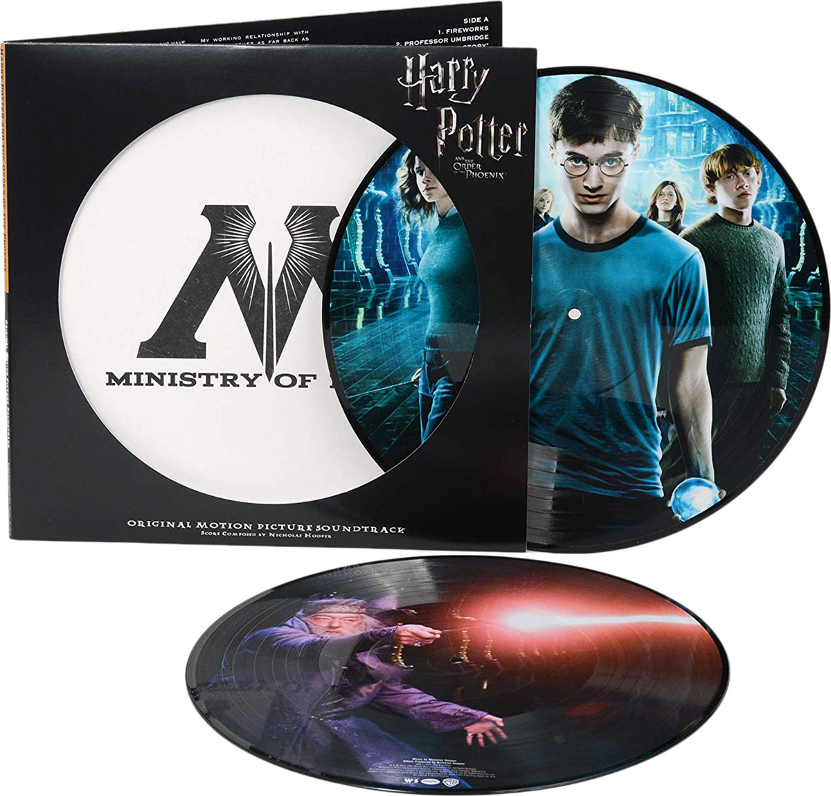 Nicholas Hooper. Harry Potter And The Order Of The Phoenix. Original Motion Picture Soundtrack (2 LP)